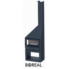 Boreal CH4000EI - krbová kamna rohová levá