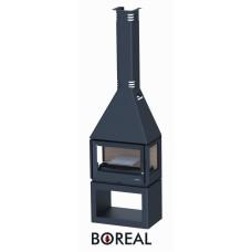 Boreal CH5000 - krbová kamna s bočními skly
